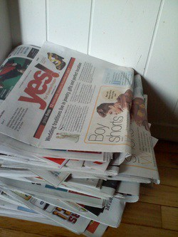 Extra Newspapers