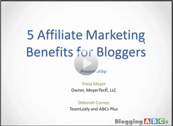affiliate marketing for bloggers review
