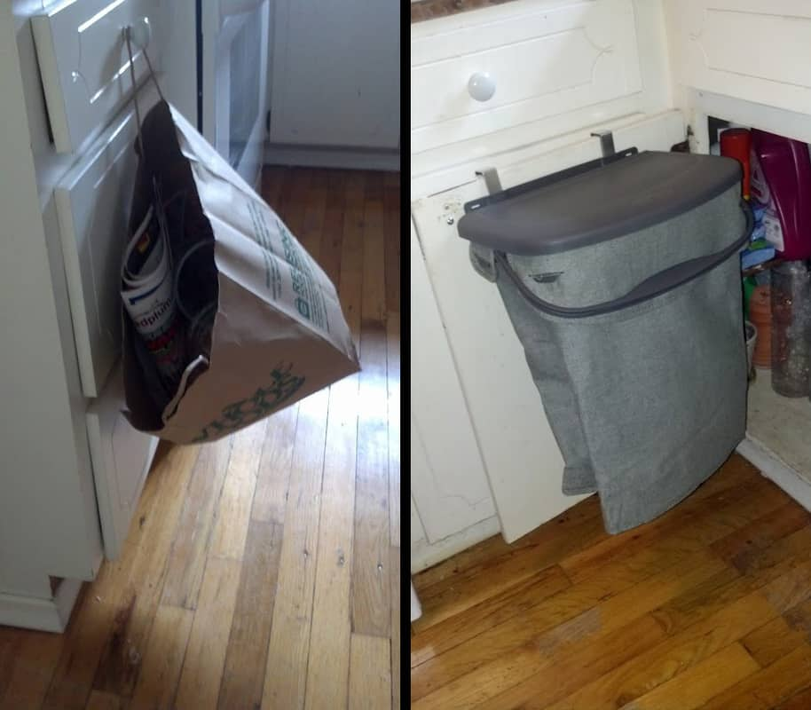 rubbermaid recycling bin