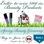 Enter to win $100 in Beauty Products from Week 99er!