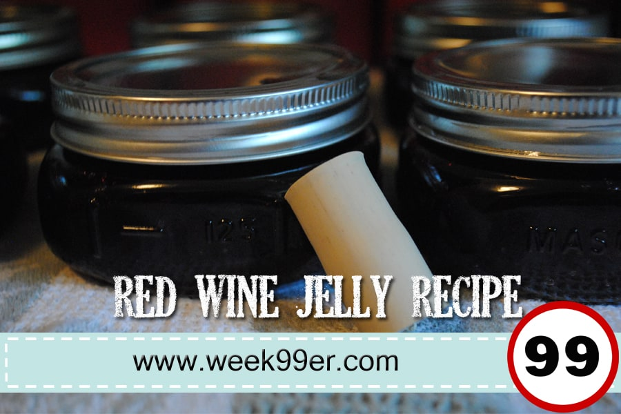 Red Wine Jelly Recipe – A Yummy Adult Treat!