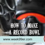 DIY: Make a Bowl from a Record – Great Gift Idea!