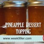 Pineapple Dessert Topping