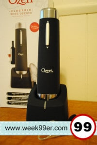 Ozeri Electric Wine Bottle Opener – Product Review and Giveaway!