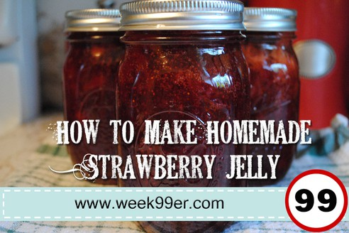 Homemade Strawberry Jelly – Can it Yourself!