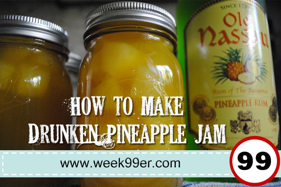 Drunken Pineapple Jam