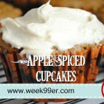 Apple Spiced Cupcakes + Newman's Own Organics Review and Giveaway!  #foodfunhop