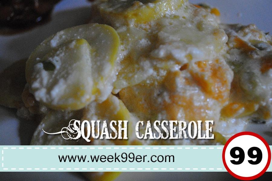 summer squash caserole