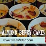 Almond Berry Cakes