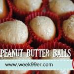 Peanut Butter Ball Recipe