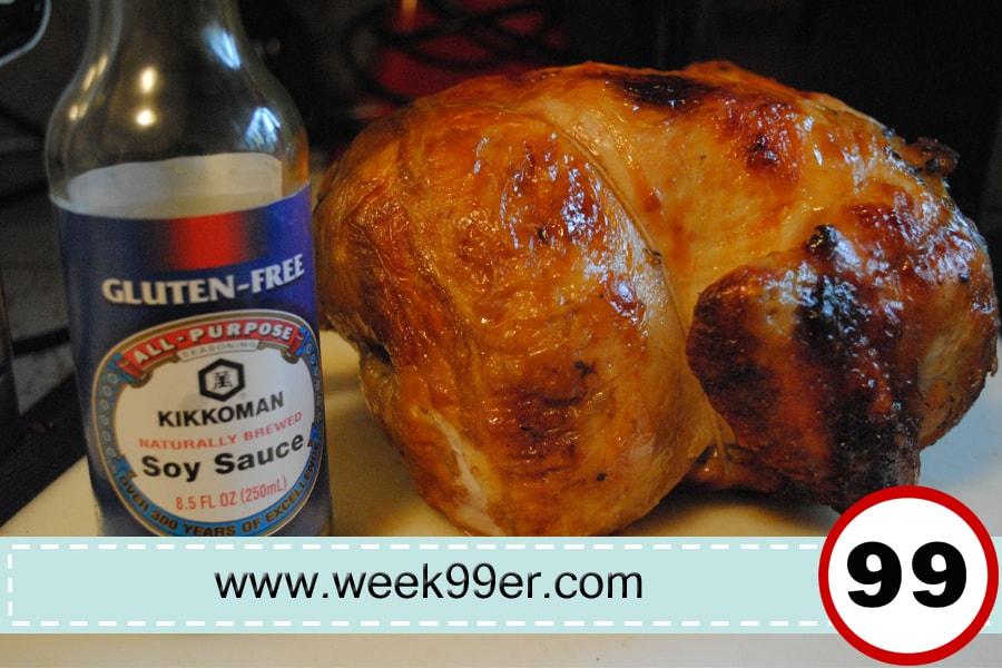 Brined chicken recipe