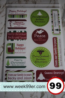 Label Daddy Present Labels