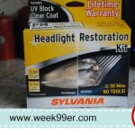SYLVANIA Headlight Restoration Kit – Product Review & Giveaway!