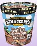 Ben and Jerry's Vanilla Heath Bar Crunch