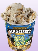 Ben and Jerry's Late Night Snack