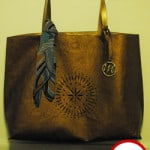 Emilie M. Catherine Tote in Bronze Product Review