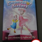 Angelina Ballerina Superstar Sisters DVD Review & Giveaway!