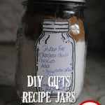 DIY Recipe Jars + Chocolate Chip Cookie Recipe