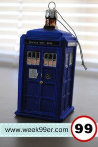 Tardis Hand-Crafted Glass Christmas Ornament Review