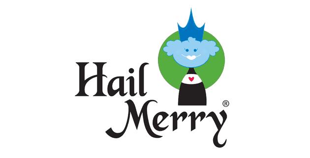 Hail Merry Macaroons Logo