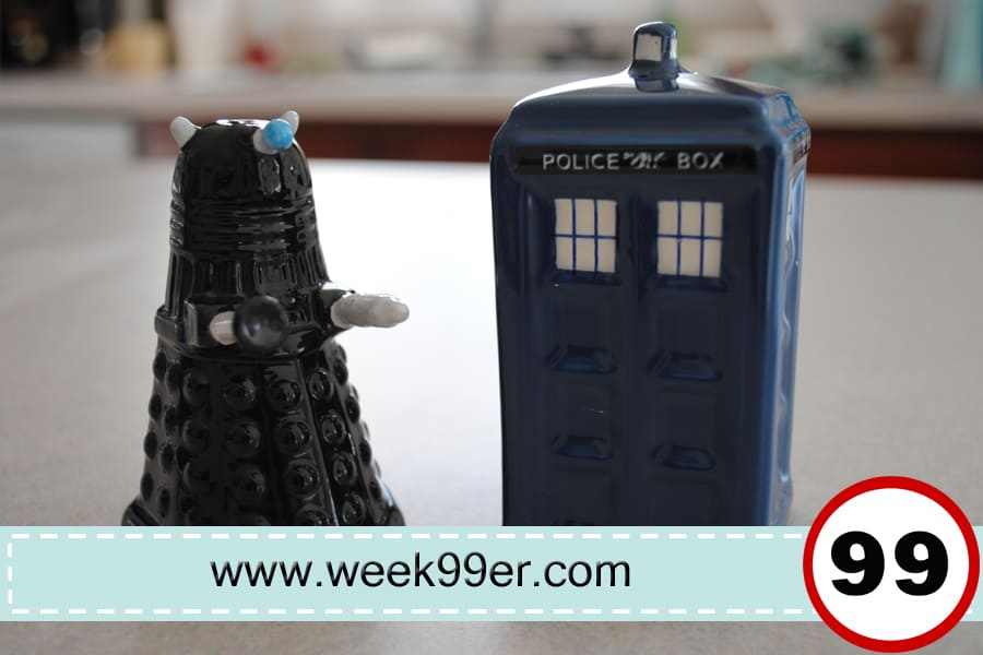 Doctor Who Salt & Pepper Shakers