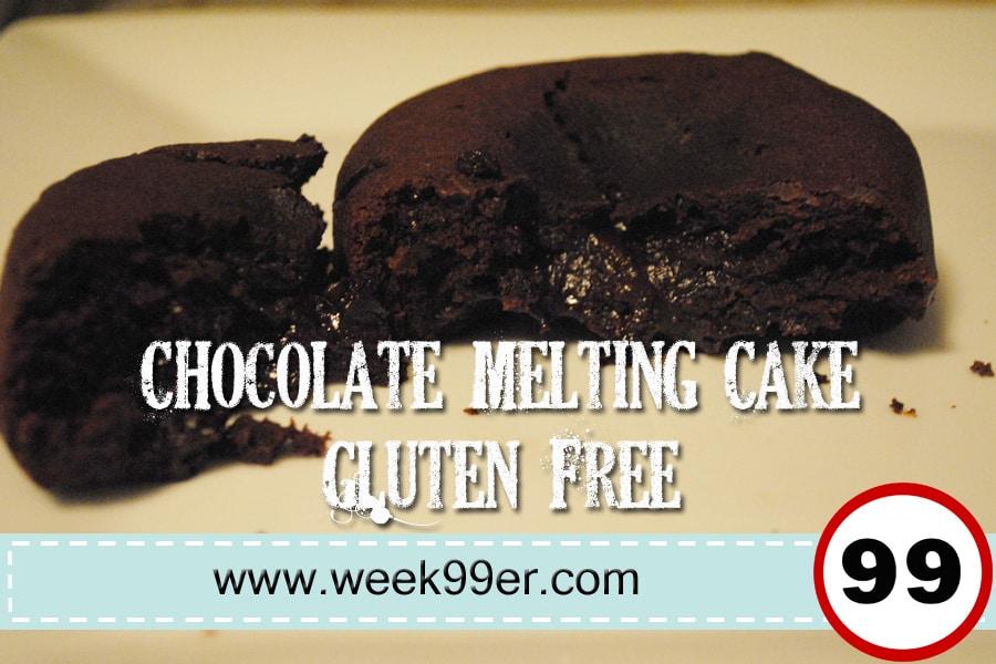 Gluten free Chocolate Melting Cake