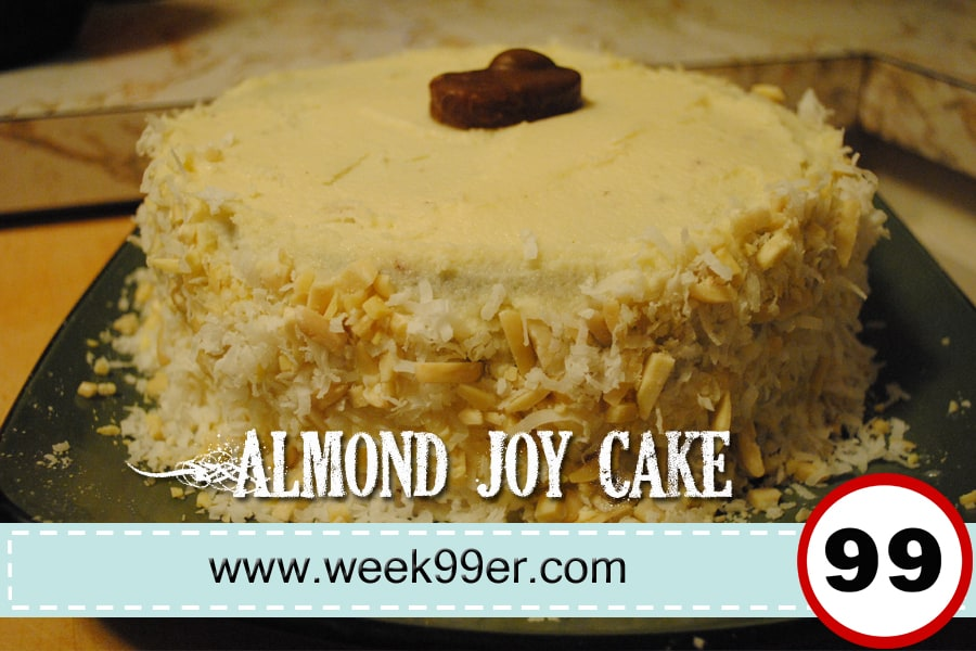 almond joy cake recipe