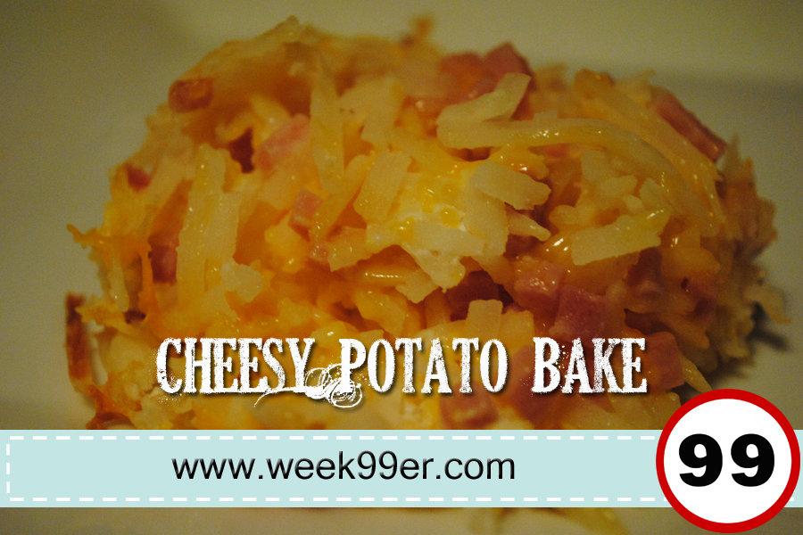 cheesy potato bake recipe