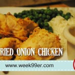Fried Onion Chicken Recipe with Gluten Free Instructions!