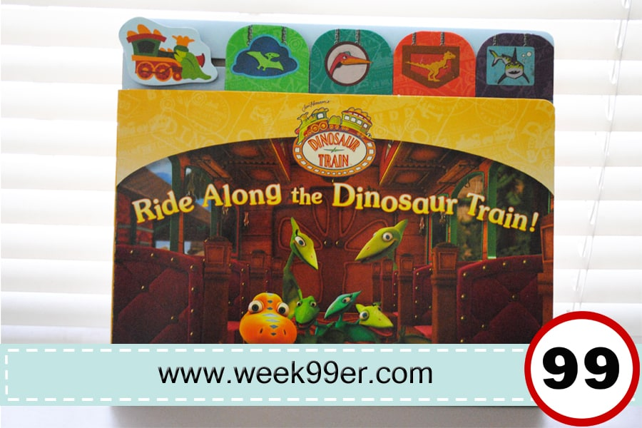 Ride Along the Dinosaur Train book review