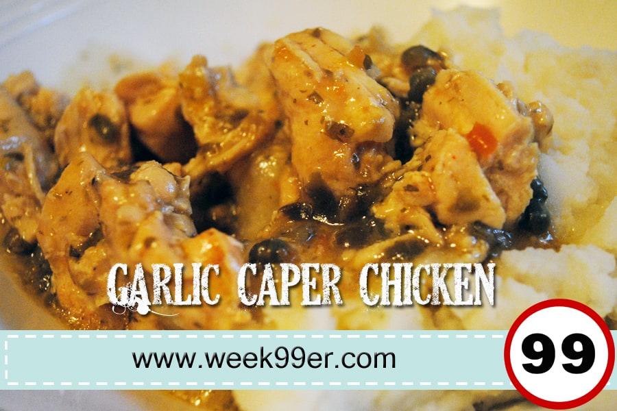garlic caper chicken recipe