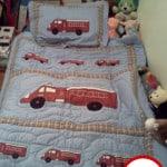 Sweet JoJo DesignsFrankie's Fire Truck Toddler Bedding set review!