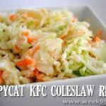 Copycat KFC Coleslaw Recipe!