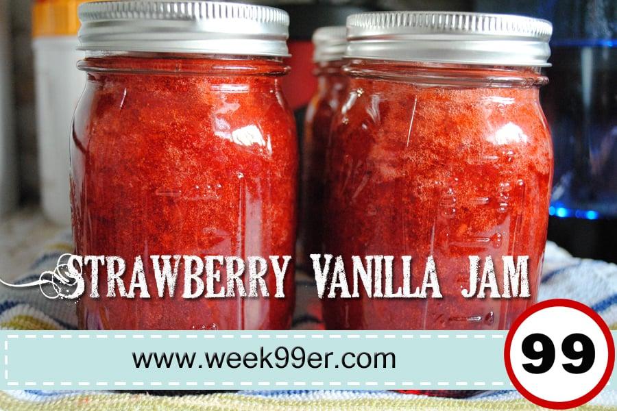 strawberry vanilla jam recipe