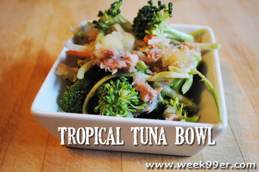 Tropical Tuna Bowl