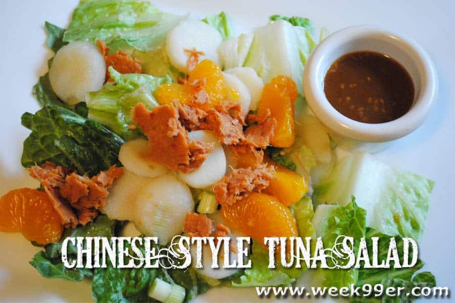 chinese style tuna salad recipe