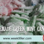 Homemade Green Mint Candy a.k.a Homemade Altoids!