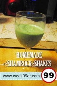 Homemade Shamrock Shake Recipe