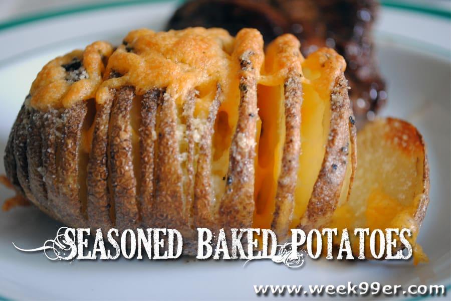 Seasoned Baked Potatoes Recipe