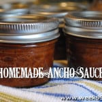Homemade Ancho Sauce – Canning Recipe