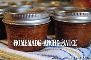 homemade ancho sauce recipe