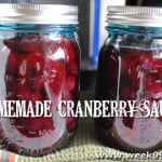 Homemade Cranberry Sauce – Canning Recipe