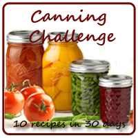 Canning Recipe Challenge