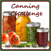 canning Challenge