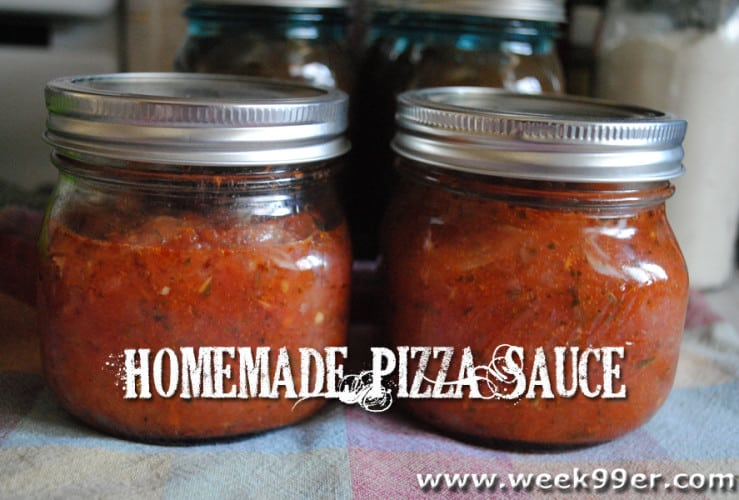 Homemade Pizza Sauce – Canning Recipe
