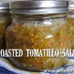 Roasted Tomatillo Salsa – Canning Recipe