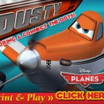 Free PLANES Printables and Connect the Dots!