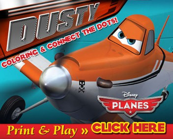 Disney Planes printable games