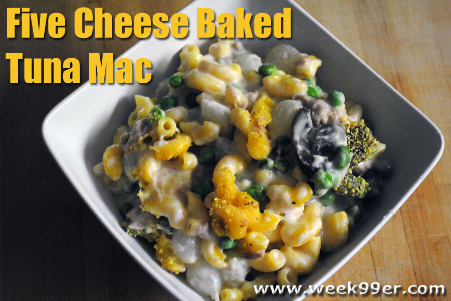 Five Cheese Baked Tuna Mac