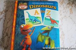 Dino's A to Z book